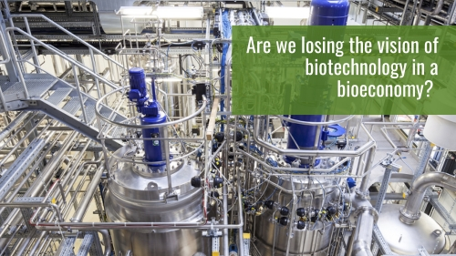 Are we losing the vision of biotechnology on a bioeconomy?