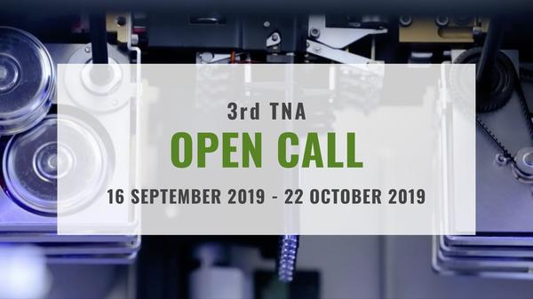 3rd TNA Open Call