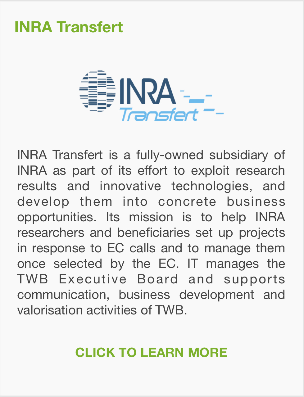 INRA tr