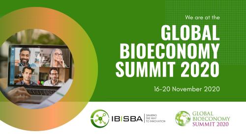 IBISBA at the Global Bioeconomy Summit (GBS) 2020